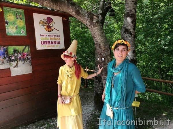 le Fatine del Bosco dei Folletti di Urbania