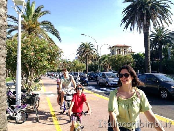 pista ciclabile del lungomare di San Benedetto del Tronto