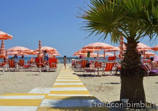 spiaggia casa vacanze Villa Spina