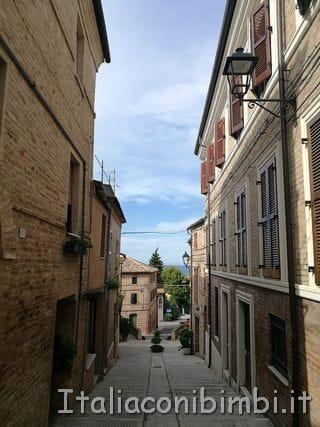 vicolo di Potenza Picena detta Montesanto