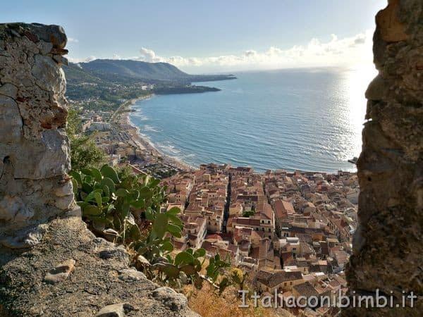 vista dalla Rocca di Cefalù