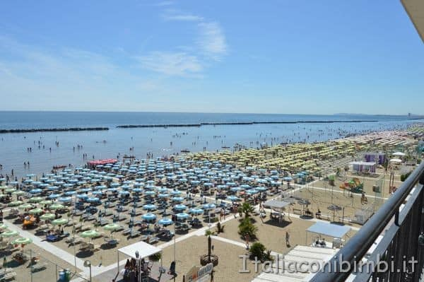 Bellaria Igea Marina vista dall'Hotel Teti