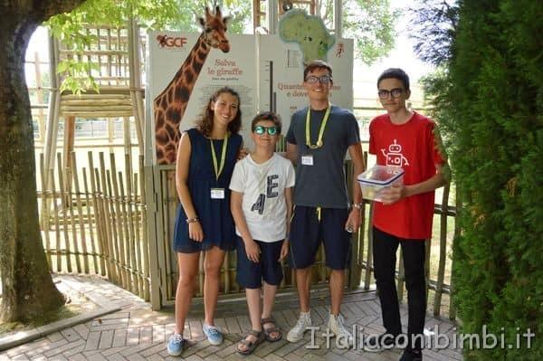 Parco Zoo Punta Verde Incontro con le giraffe