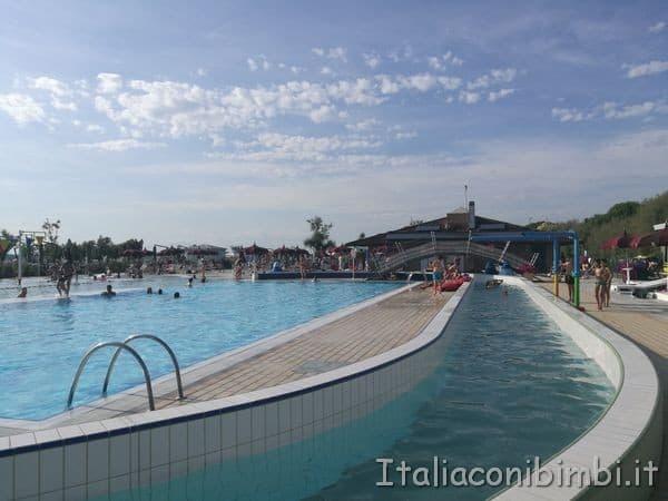 parco acquatico al Camping Capalonga di Bibione