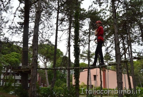 parco avventura Lignano Sabbiadoro