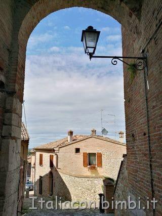 scorcio di Santarcangelo di Romagna.