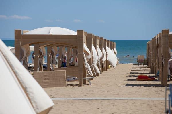 spiaggia vip di Lignano