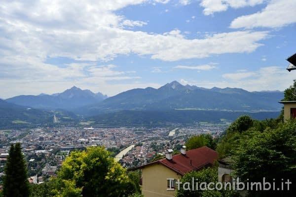 vista su Innsbruck Alpenzoo Innsbruck