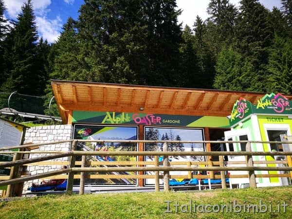 Alpince Coaster a Latemar