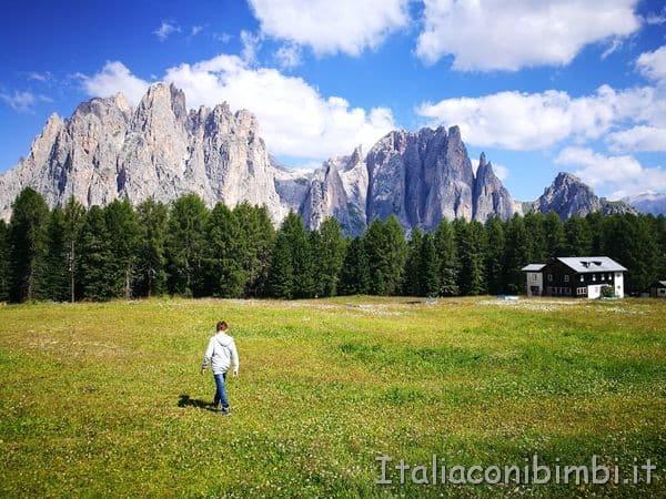 Ciampedie in Val di Fassa