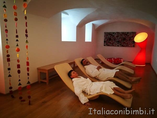 Eco Park Hotel Azalea di Cavalese sala relax