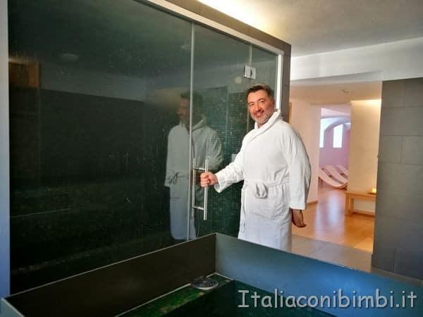 Eco Park Hotel Azalea di Cavalese sauna