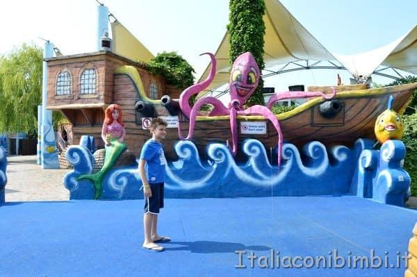 Giochi d'acqua a Gulliverlandia