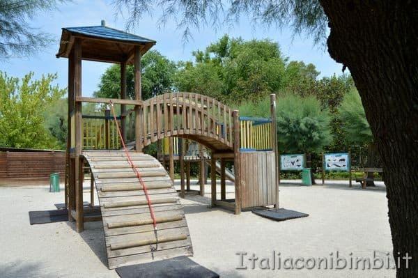 giochi al parco zoo Punta Verde di Lignano