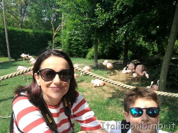 noi al parco zoo Punta Verde di Lignano
