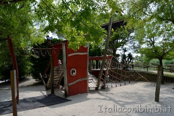 parco giochi dello zoo di Lignano Sabbiadoro