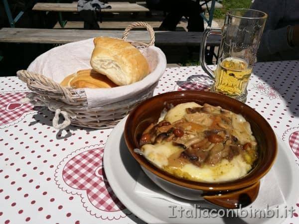 polenta al ristorante la Bolp