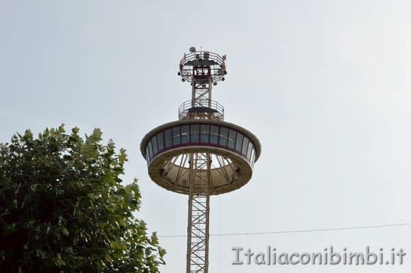 torre panoramica a Gulliverlandia