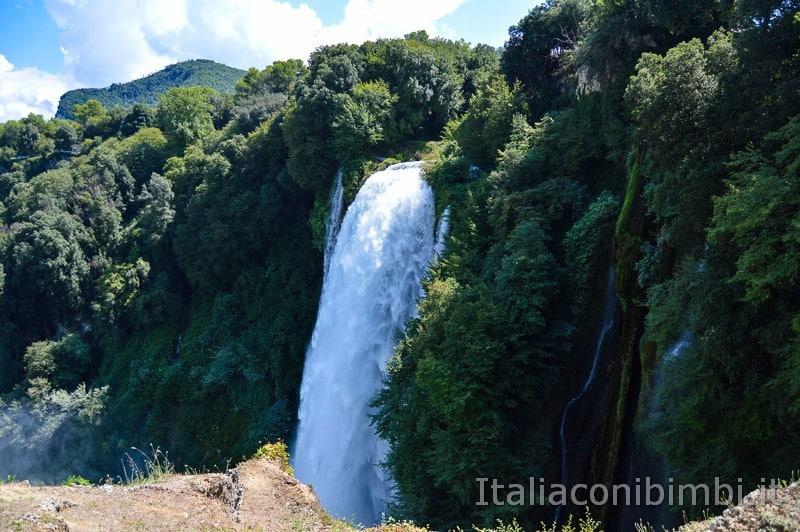 Cascata delle Marmore - dal belvedere superiore