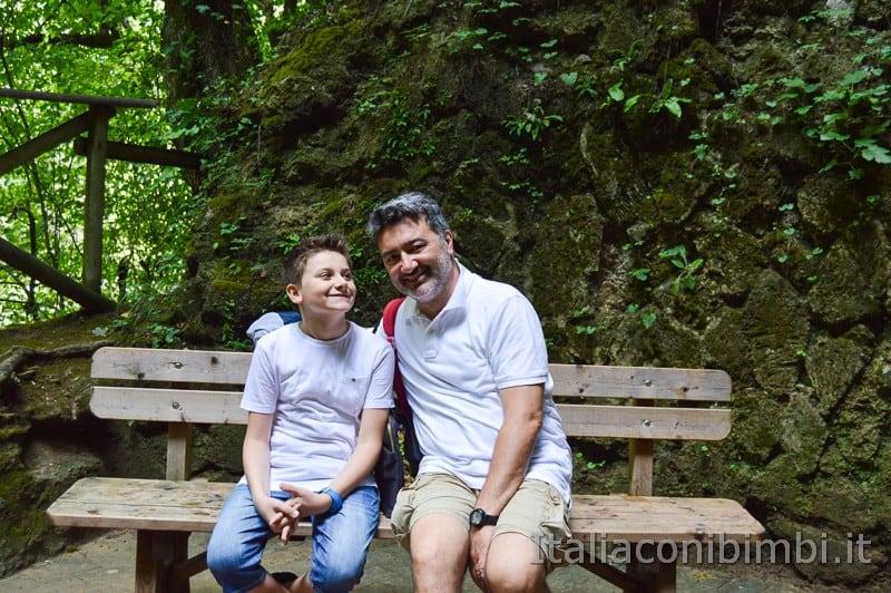Cascata delle Marmore - in gita con i bambini