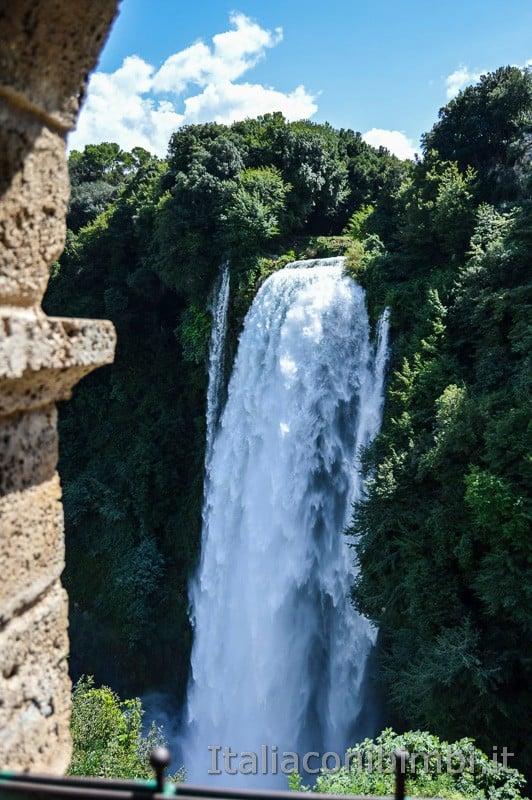 Cascata delle Marmore - vista dal belvedere superiore