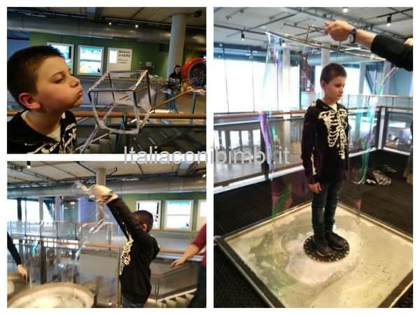 Fenomena al primo piano del Nemo museo della scienza di Amsterdam
