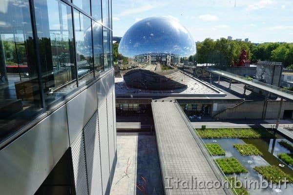 Geode alla città della scienza di Parigi