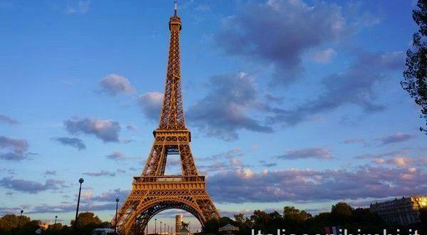 La tour Eiffel vista da Trocadero