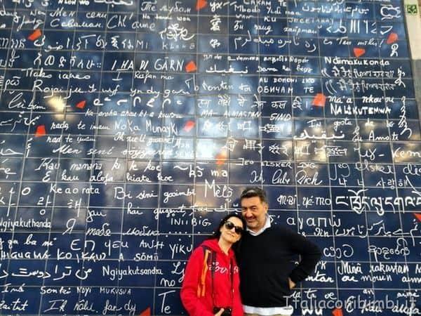 Muro del Je t'aime a Montmartre
