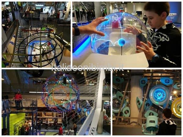 Nemo Amsterdam esperimenti e giochi interattivi