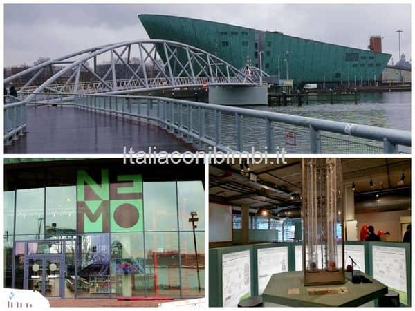 Nemo museo della scienza Amsterdam struttura di Renzo Piano