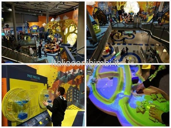 Technium secondo piano del Nemo museo della scienza di Amsterdam