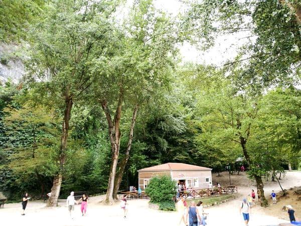 area picnic della Cascata delle Marmore
