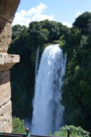 belvedere superiore della Cascata delle Marmore