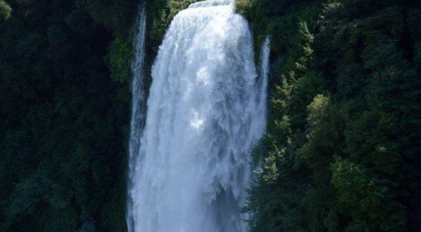 cascata delle Marmore vista dal Belvedere superiore