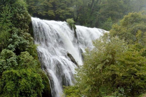 terzo salto della cascata delle Marmore