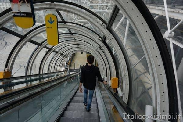 tubi del Centre Pompidou Parigi