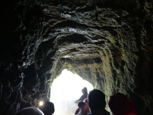 tunnel del balcone degli innamorati alle Marmore