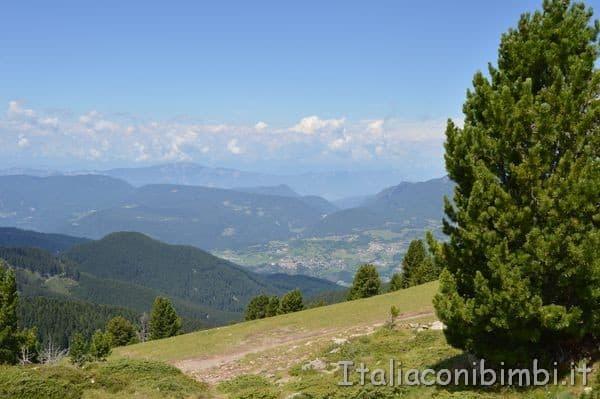 vista dal Panoramio al Paion