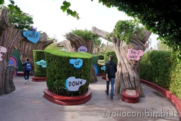 Disneyland Paris labirinto di Alice