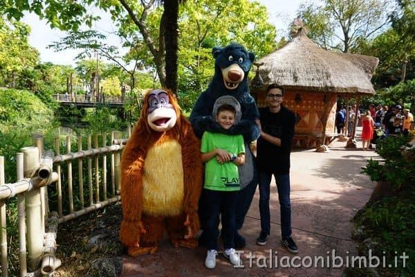 Disneyland Paris orso Baloo