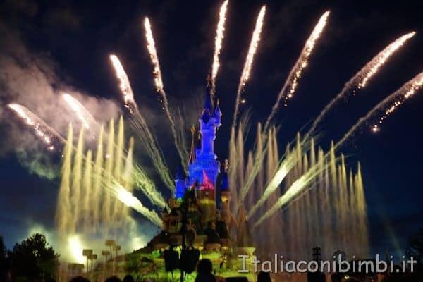 Disneyland Paris spettacolo finale