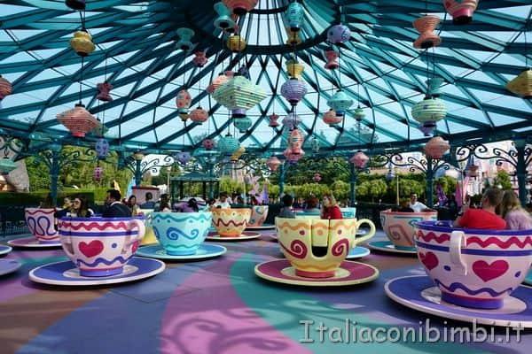 Disneyland Paris tazze girevol