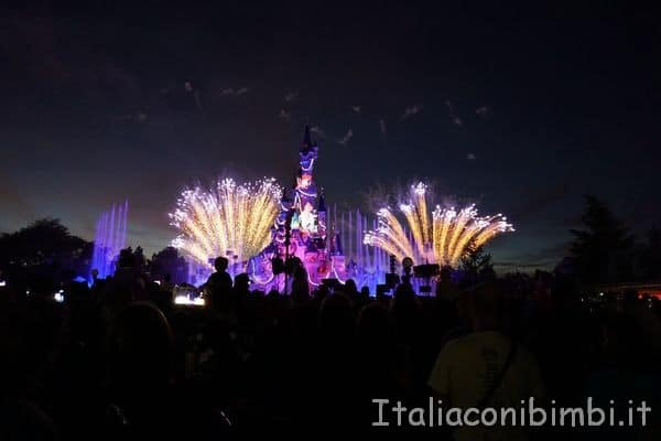 Disneyland Paris fuochi d'artificio