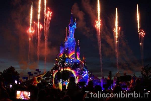 Disneyland fuochi d'artificio