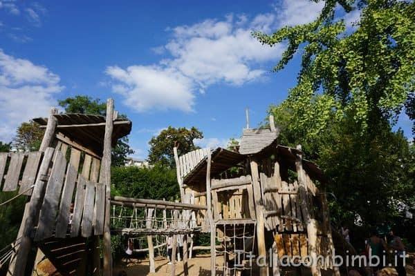 Jardin d'acclimatation Les Aventures Forestieres