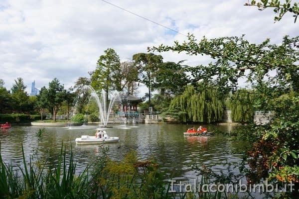 giardino coreano Jardin d'Acclimatation