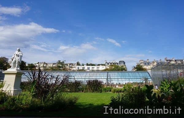 la grande voliera Jardin d'Acclimatation Parigi