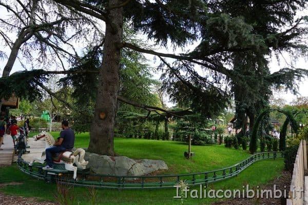 percorso con i cavalli Jardin d'Acclimatation Paris