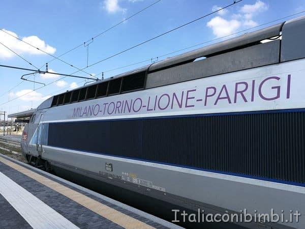 treno TGV Milano Parigi